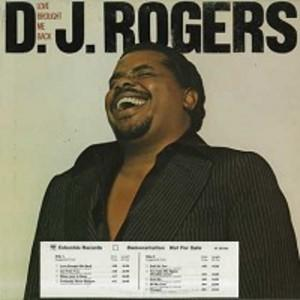 Album  Cover Dj Rogers - Love Brought Me Back on COLUMBIA (CBS) Records from 1978