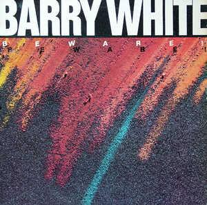 Album  Cover Barry White - Beware! on UNLIMITED GOLD Records from 1981