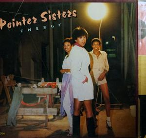 Front Cover Album Pointer Sisters - Energy
