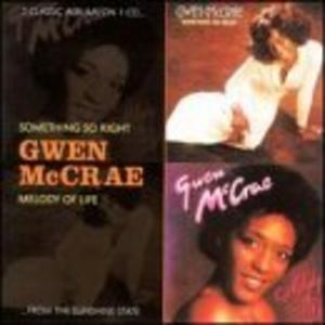 Album  Cover Gwen Mccrae - Something So Right on CAT Records from 1976