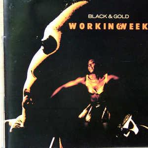Album  Cover Working Week - Black And Gold on TEN Records from 1991