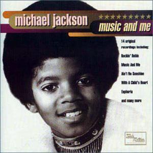 Album  Cover Michael Jackson - Music And Me on MOTOWN Records from 1973