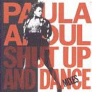 Album  Cover Paula Abdul - Shut Up And Dance (mixes) on VIRGIN Records from 1990