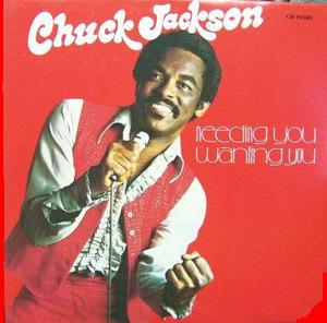 Album  Cover Chuck Jackson - Needing You, Wanting You on ALL PLATINUM Records from 1975