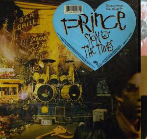 Album  Cover Prince - Sign 'o' The Times on WARNER BROS. Records from 1987