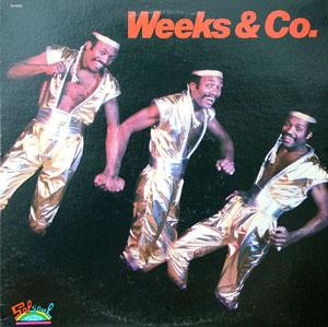 Album  Cover Weeks & Company - Weeks & Co. on SALSOUL Records from 1983