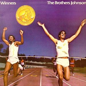 Album  Cover The Brothers Johnson - Winners on A&M Records from 1981