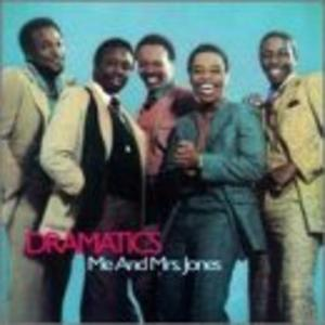 Album  Cover The Dramatics - Me & Mrs. Jones on MCA Records from 1995