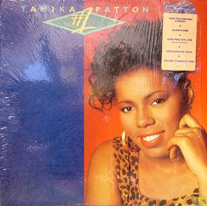 Album  Cover Tamika Patton - #1 on ORPHEUS Records from 1989