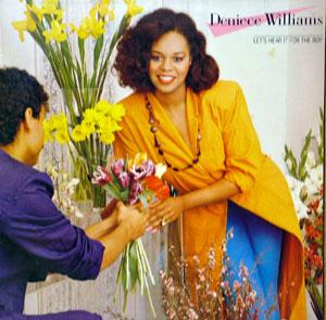 Album  Cover Deniece Williams - Let's Hear It For The Boy on CBS Records from 1984