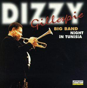 Front Cover Album Dizzy Gillespie - Night in Tunisia
