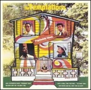 Front Cover Album The Temptations - Psychedelic Shack
