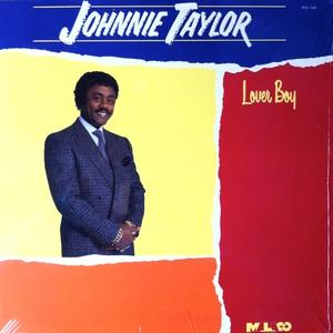 Album  Cover Johnnie Taylor - Lover Boy on MALACO Records from 1987