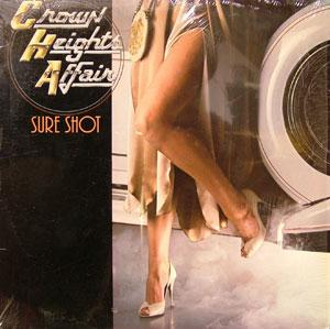 Album  Cover Crown Heights Affair - Sure Shot on DE-LITE Records from 1980