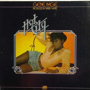 Album  Cover Gene Page - Hot City on ATLANTIC Records from 1975