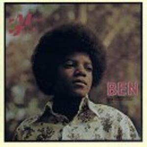 Album  Cover Michael Jackson - Ben on MOTOWN Records from 1972