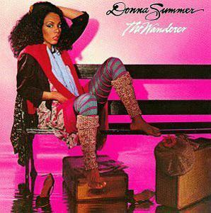 Front Cover Album Donna Summer - The Wanderer