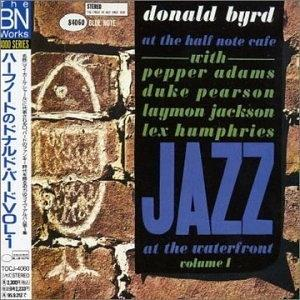 Album  Cover Donald Byrd - At The Half Note Cafe, Vol. 1 on JAPANESE IMPORT Records from 2003