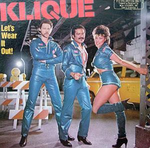 Album  Cover Klique - Let's Wear It Out on MCA Records from 1982