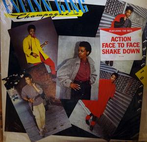 Album  Cover Evelyn 'champagne' King - Face To Face on RCA Records from 1983