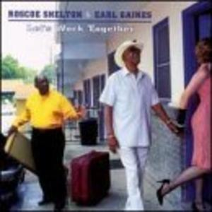 Album  Cover Roscoe Shelton - Work Together on CANNONBALL Records from 2000