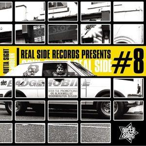 Album  Cover Various Artists - Real Side Records Presents – Soul On The Real Side # 8 on OUTTA SIGHT Records from 2017