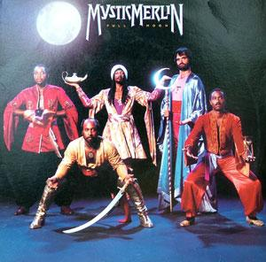 Album  Cover Mystic Merlin - Full Moon on CAPITOL Records from 1982