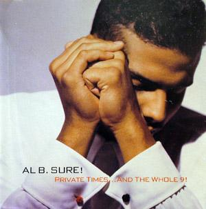 Album  Cover Al B Sure - Private Times...and The Whole 9! on WARNER BROS. Records from 1990