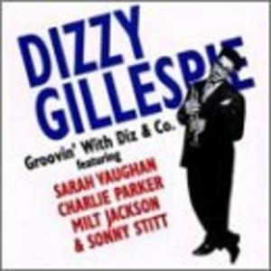 Album  Cover Dizzy Gillespie - Groovin' With Diz on BLACK LABEL Records from 1995