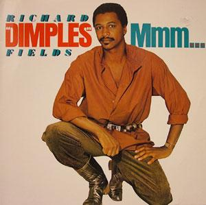 Album  Cover Fields Richard Dimples - Mmm on RCA Records from 1984