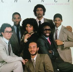 Album  Cover Change - Sharing Your Love on ATLANTIC Records from 1982