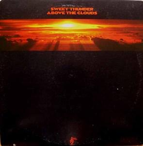 Album  Cover Sweet Thunder - Above The Clouds on FANTASY Records from 1976