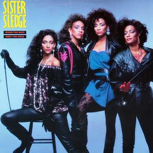 Front Cover Album Sister Sledge - When The Boys Meet The Girls