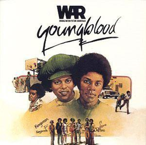 Album  Cover War - Youngblood on L.A. INTERNATIONAL (MCA) Records from 1978