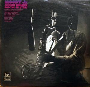 Album  Cover Junior Walker & The All-stars - Moody Jr. on TAMLA MOTOWN Records from 1971
