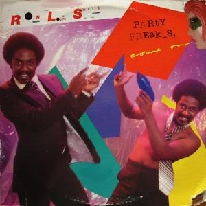 Front Cover Album Ron Louis Smith - Party Freaks, Come On