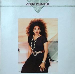 Album  Cover Anita Pointer - Love For What It Is on RCA Records from 1987
