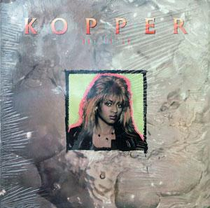 Album  Cover Kopper - Hot Water on KMA RECORDS Records from 1988