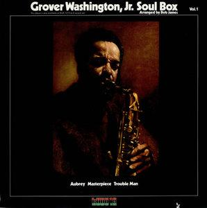 Album  Cover Grover Washington Jr - Soul Box on KUDU Records from 1973