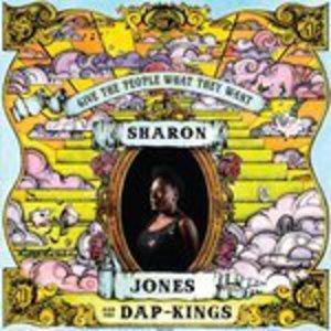 Front Cover Album Sharon Jones & The Dap Kings - Give The People What They Want