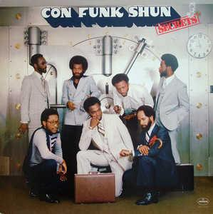 Album  Cover Con Funk Shun - Secrets on MERCURY Records from 1977