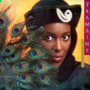 Album  Cover Tramaine Hawkins - The Search Is Over on A&M Records from 1986