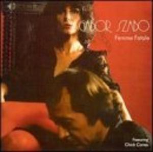 Album  Cover Gabor Szabo - Femme Fatale on PEPITA Records from 1978