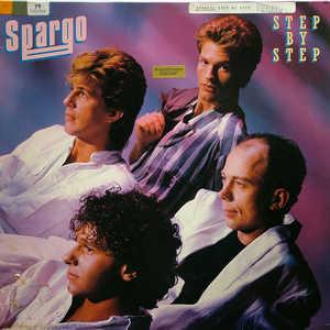 Album  Cover Spargo - Step By Step on ARIOLA Records from 1984