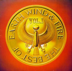 Album  Cover Earth Wind & Fire - Best Of E W & F on CBS Records from 1979