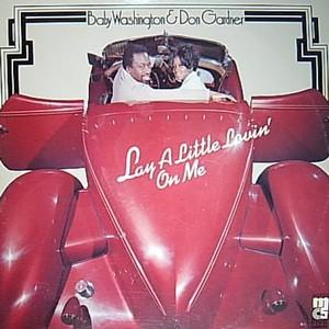 Album  Cover Baby Washington - Lay A Little Lovin'on Me on MASTER FIVE Records from 1973