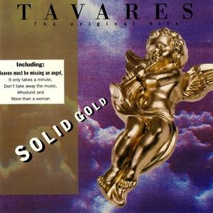 Album  Cover Tavares - Solid Gold on CAPITOL Records from 1994
