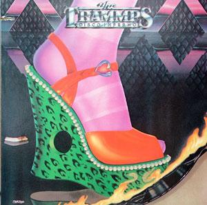 Front Cover Album The Trammps - Disco Inferno