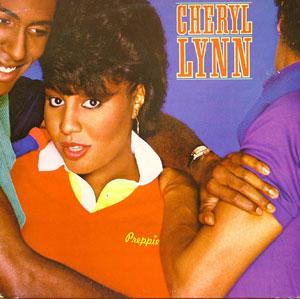 Album  Cover Cheryl Lynn - Preppie on COLUMBIA Records from 1983