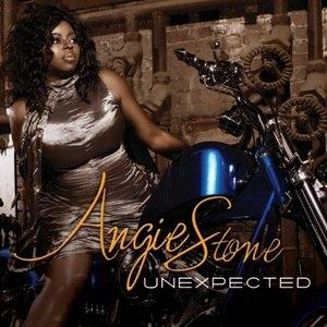 Front Cover Album Angie Stone - Unexpected